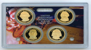 2007 presidential dollar coins proof set