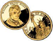 Presidential Dollar William Henry Harrison picture